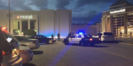Police respond to the second shooting at Peachtree Mall in a month.