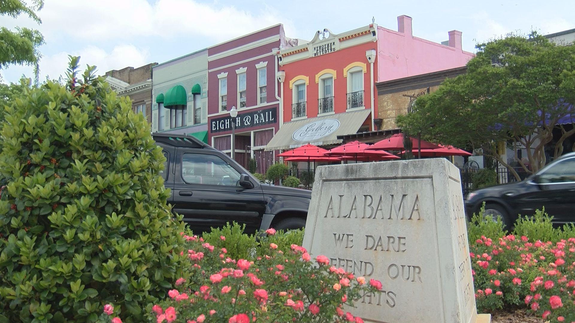 Downtown Opelika, Alabama