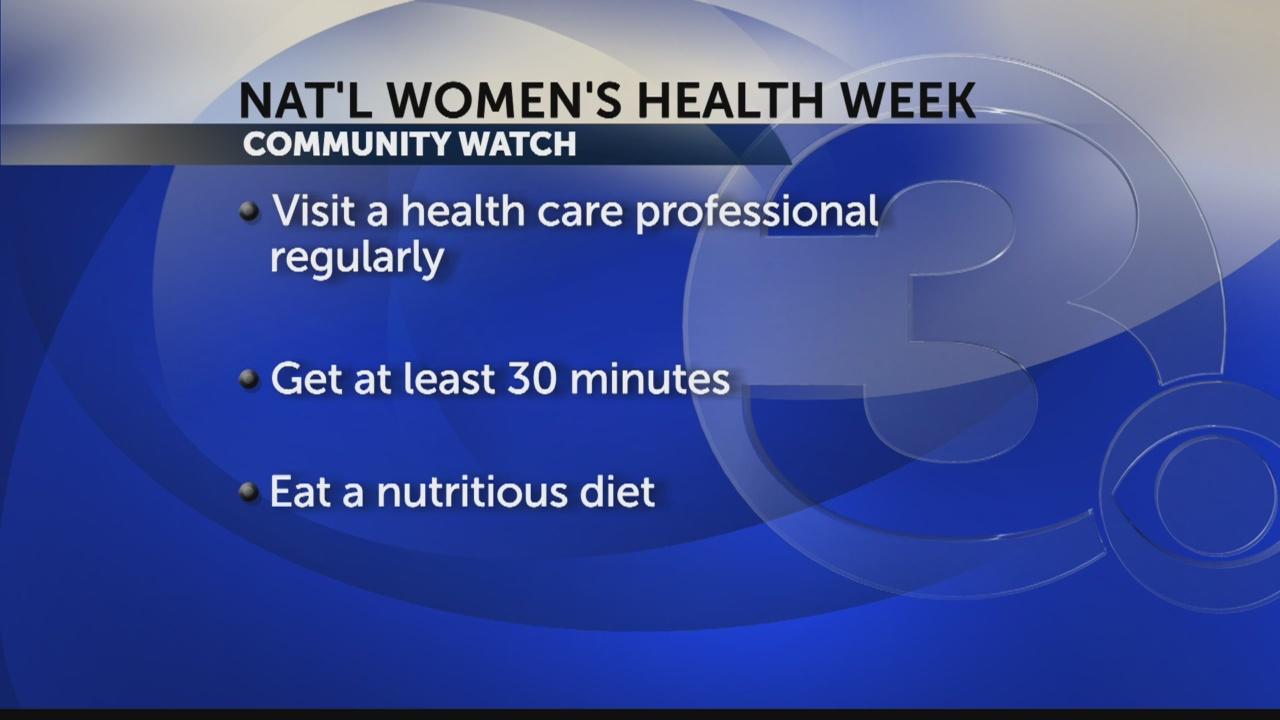 national women's health week_106570
