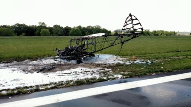 plane burned_107332