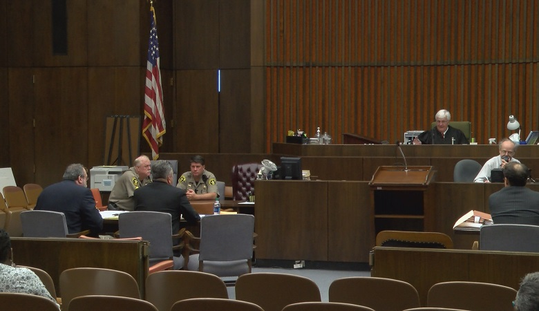 Republican candidate Mark LaJoye and Democratic candidate Donna Tompkins appealed their disqualifications to Superior Court Monday.