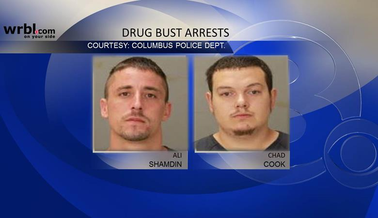 Five jailed on drug charges stemming from bust on Macon Road