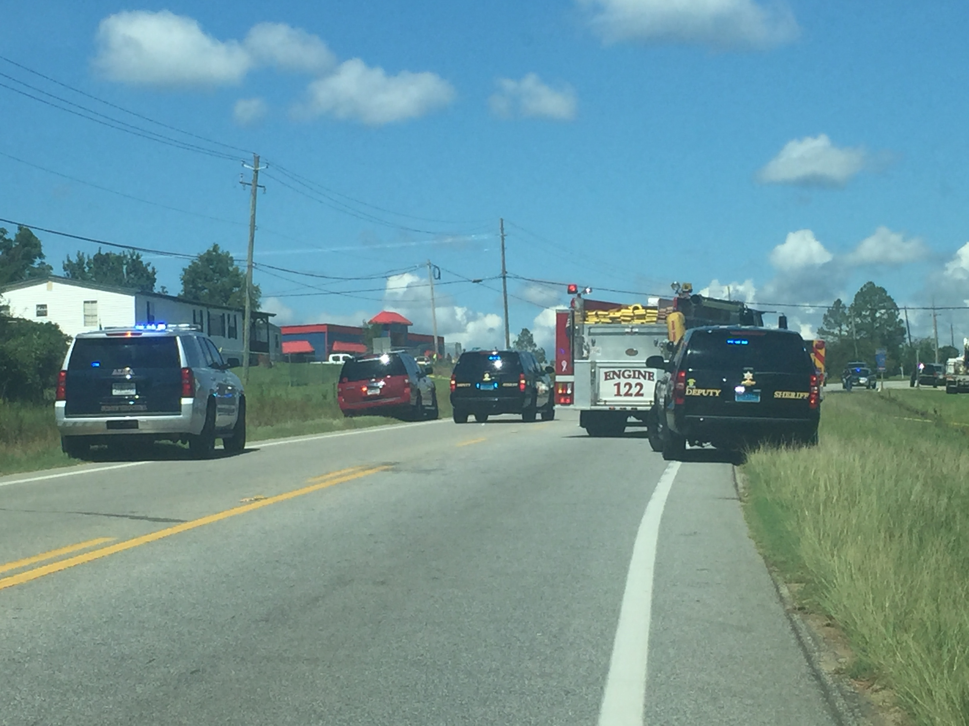 5 dead including 2 kids in accident on U S  Highway 80