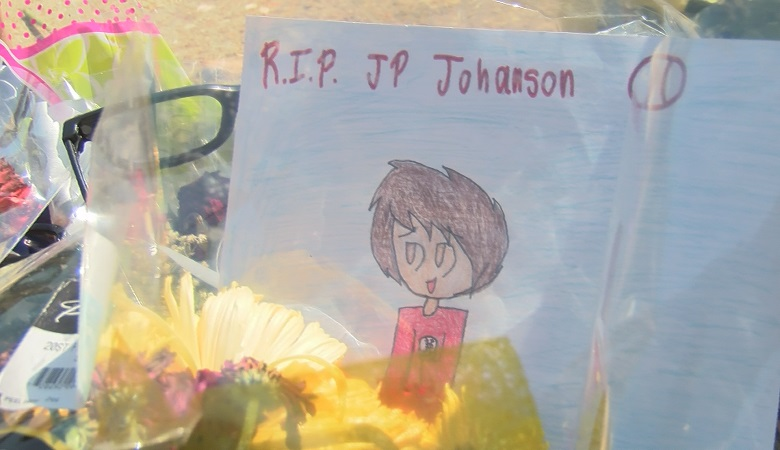 "Love and support continue to flow into Northside High School following the death of sophomore Justin ""JP"" Johanson."