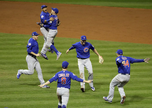 APTOPIX World Series Cubs Indians Baseball_153794
