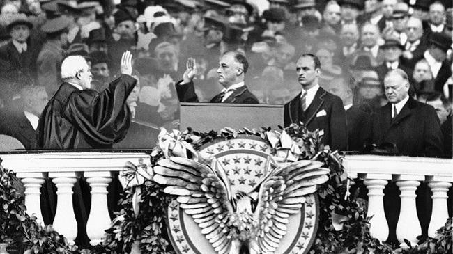 Franklin D. Roosevelt, Charles E. Hughes, Herbert Hoover, James Roosevelt_171365