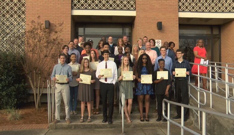 16 students received Mayor's Ball scholarship money this year.