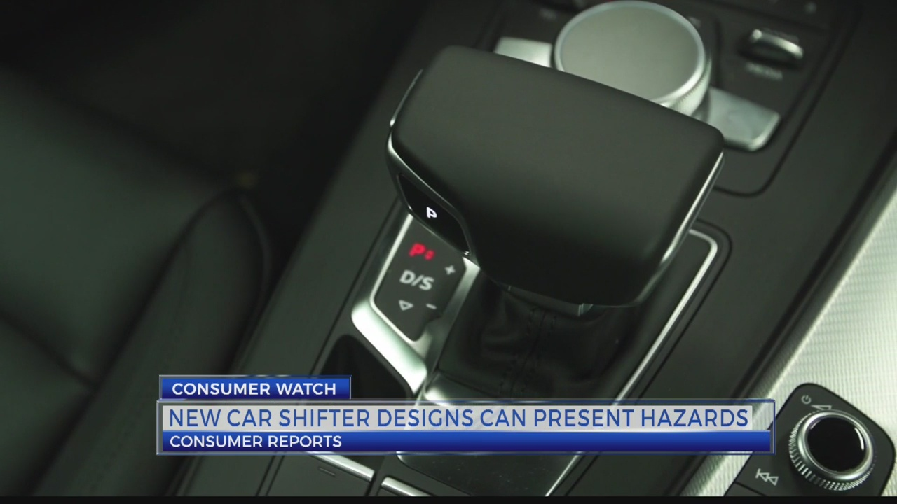 Consumer Reports warns about complicated car shifters