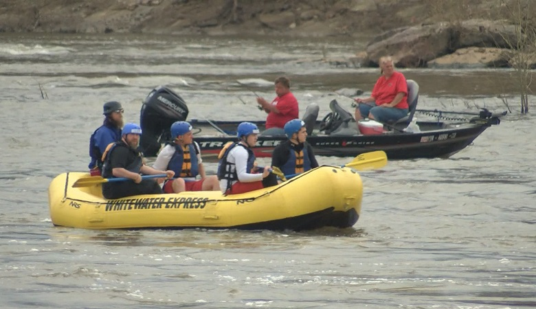 Whitewater Express says more people have taken advantage of warmer temperatures at the start of the year.