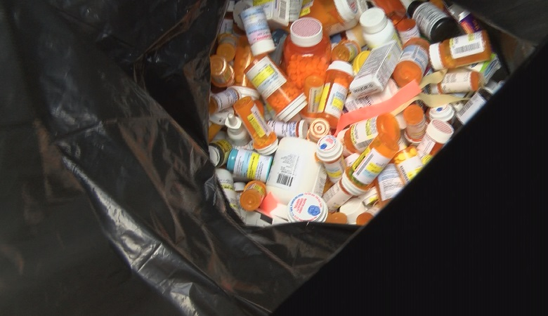 Law enforcement agencies nationwide collected tons of old prescription medication on Drug Take Back Day.