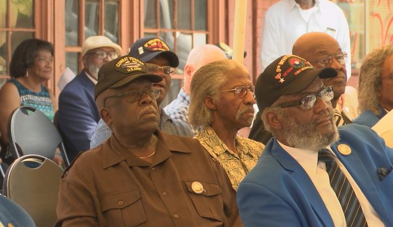 Local Vietnam War veterans were honored Saturday.