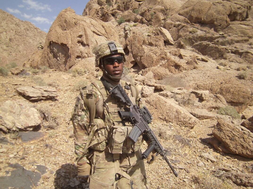 SSG Corwin Mario Burrowes lost his life in a tragic Humvee accident on Fort Bragg.