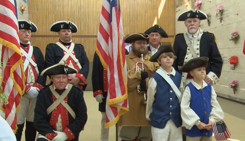 The Sons of the American Revolution Coweta Falls chapter hosted their 12th Memorial Day Commemoration Monday at Parkhill Cemetery.