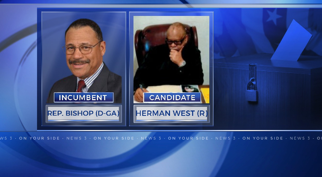 Political newcomer Herman West will challenge Rep. Sanford Bishop (D-GA, Albany) for the 2nd Congressional District.