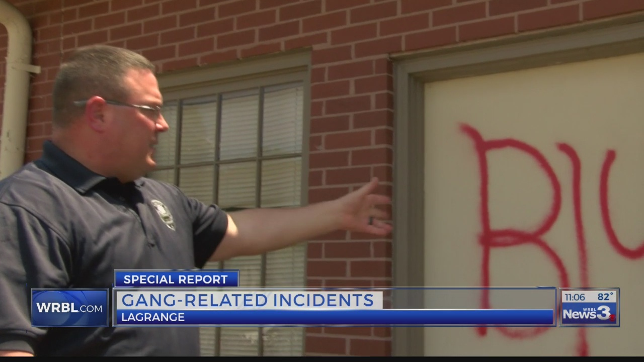 LaGrange Police Sgt. Mark Cavendar says since doubling the number of officers dedicated to fighting gang-related crime, he's noticed a significant difference.