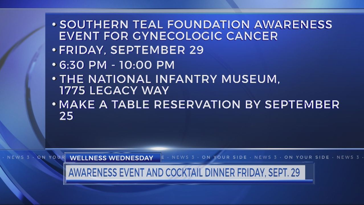 Southern Teal Foundation to host gynecologic cancer