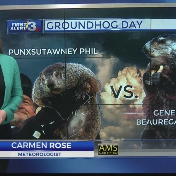 Groundhog Guessing Game: Punxsutawney Phil vs. General Beauregard Lee