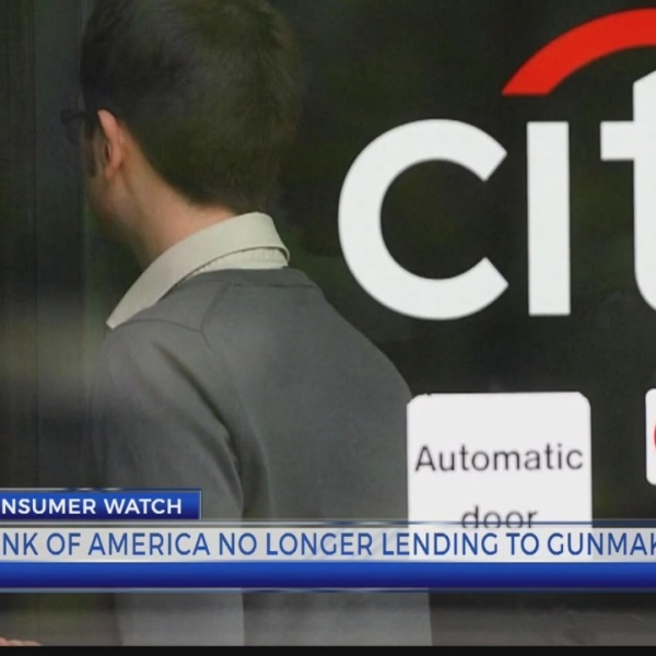 Bank of America no longer lending guns