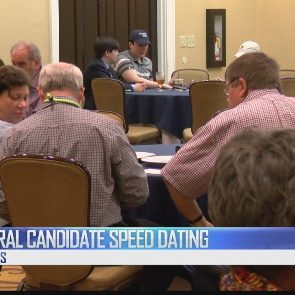 Mayoral Candidate speed dating
