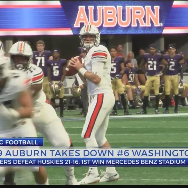 #9 Auburn beats #6 Washington