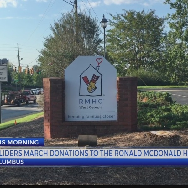 RUCK MARCH TO RONALD MCDONALD HOUSE