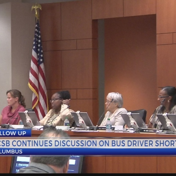 MCSB continues discussion on bus driver shortage