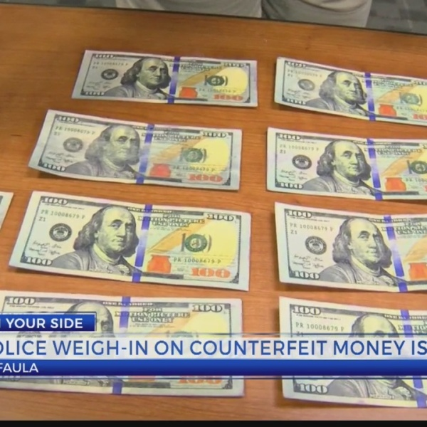 Police weigh in on counterfeit money issue