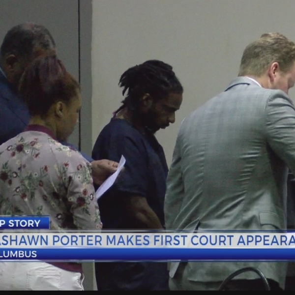 Rashawn Porter makes first court appearance