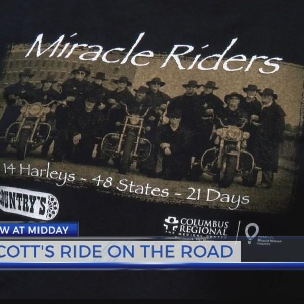 SCOTT'S RIDE ON THE ROAD