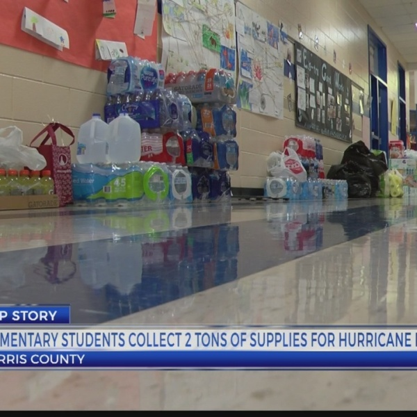 Students collect relief items for Hurricane Michael victims