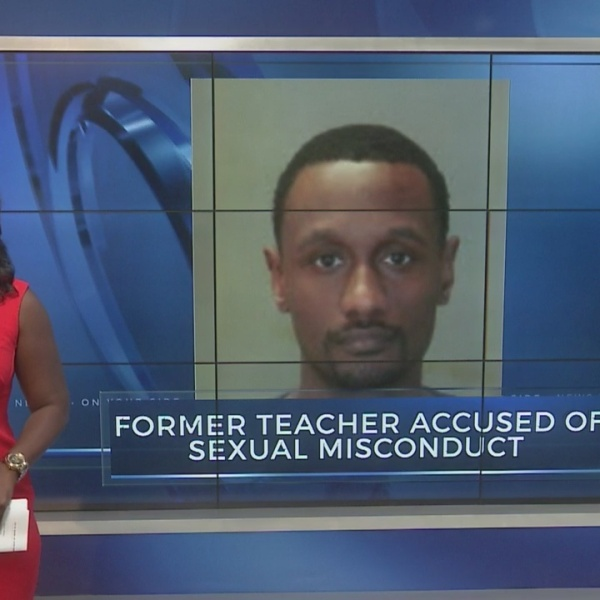 Former teacher accused of sexual misconduct