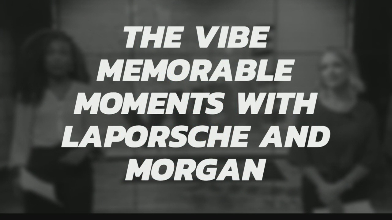 THE VIBE MEMORABLE MOMENTS