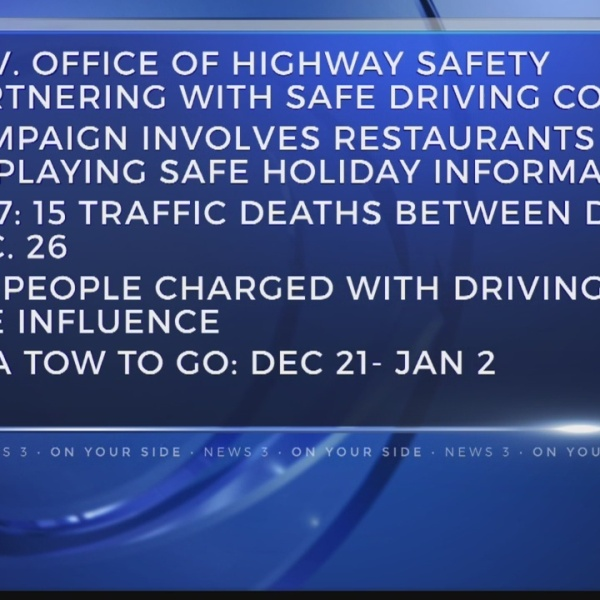 Georgia officials kickoff Holiday Travel Safety campaign