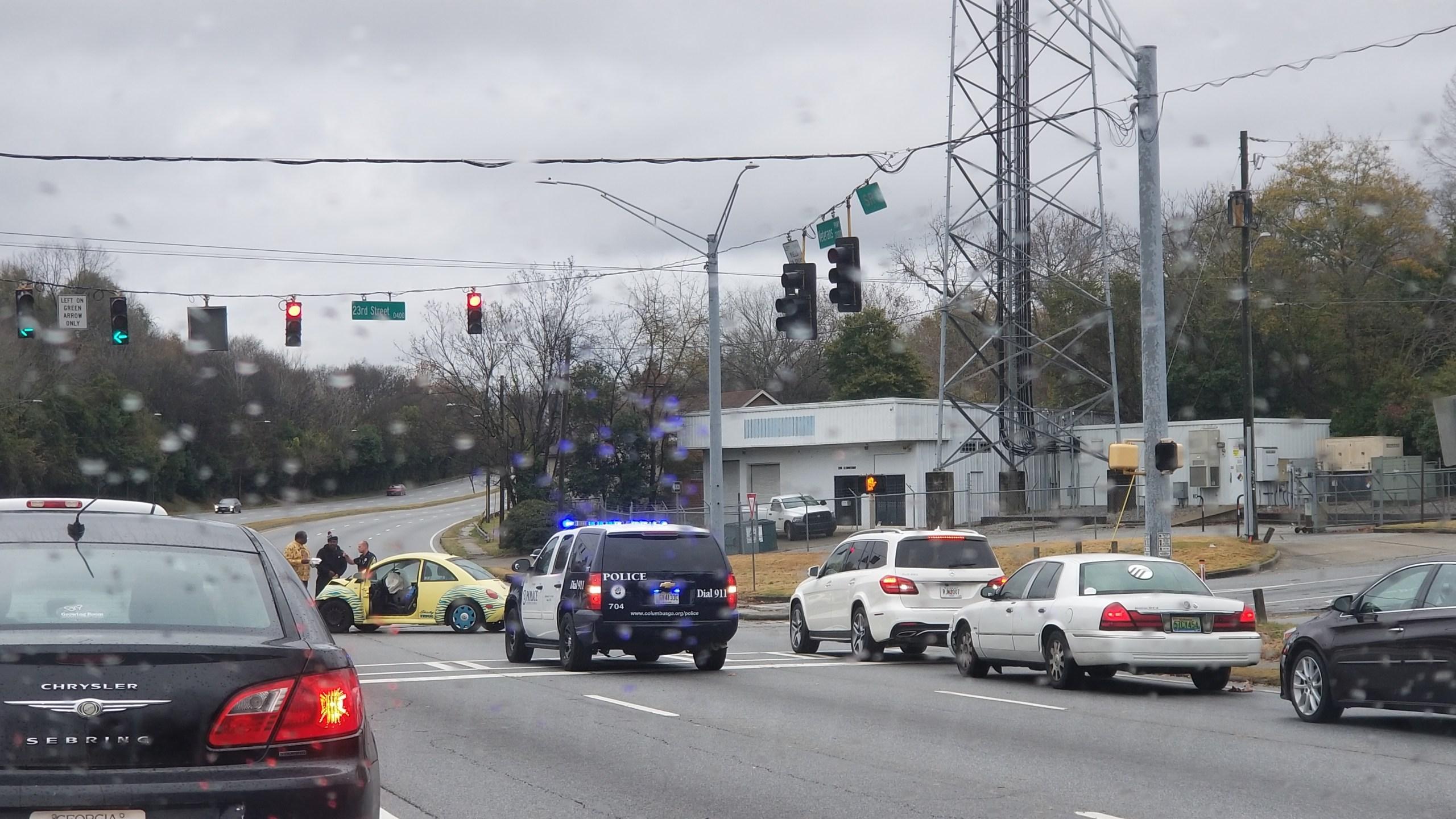 Veterans Parkway accident