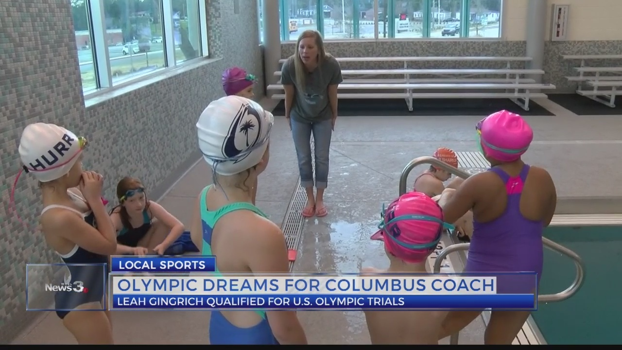 Columbus coach chases Olympic dream