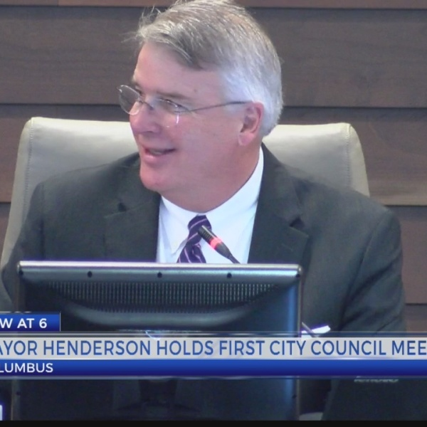 Newly appointed Columbus Mayor holds council meeting