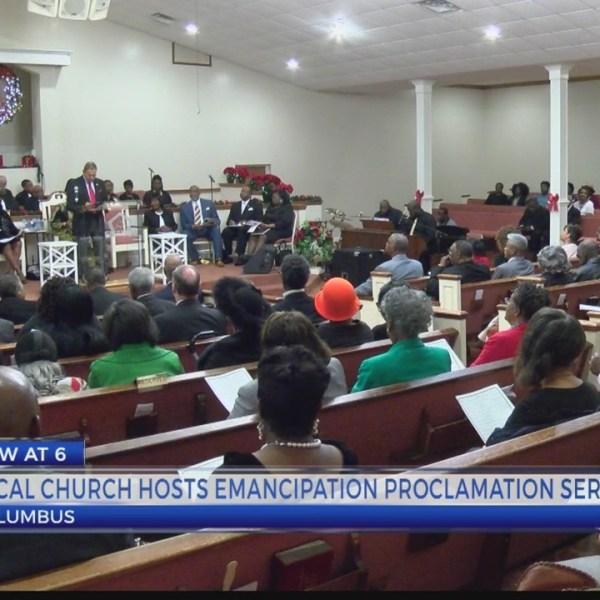 Revelation Missionary Baptist Church celebrates The Emancipation Proclamation