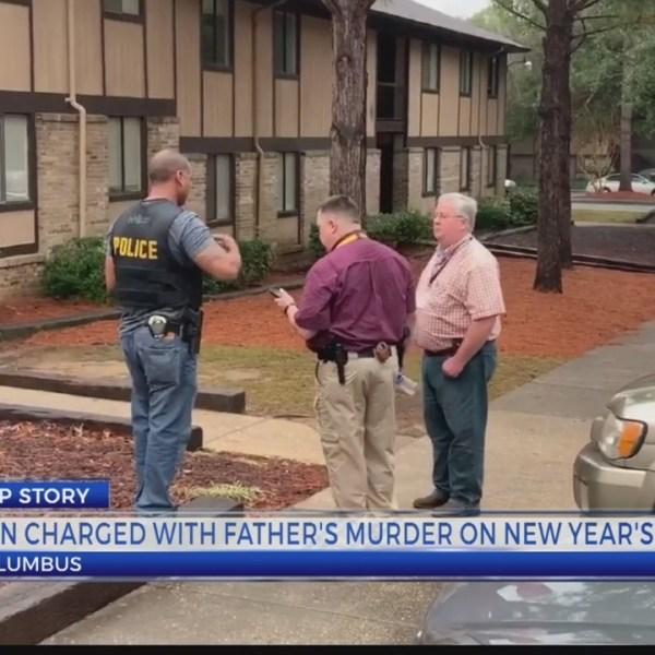 son kills father