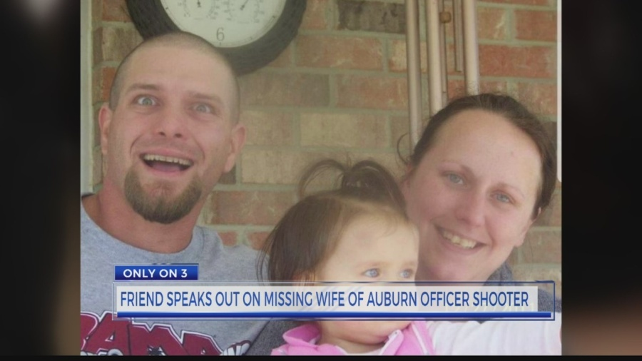 Friend seeks answers for missing wife of Auburn officer shooter