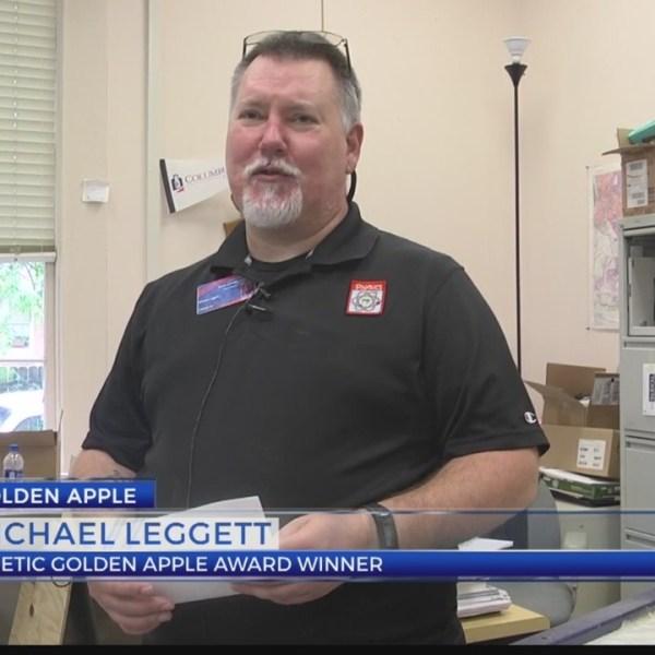 Golden Apple: Michael Leggett