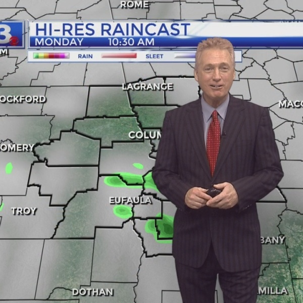 Jeff Kelly's Monday Forecast