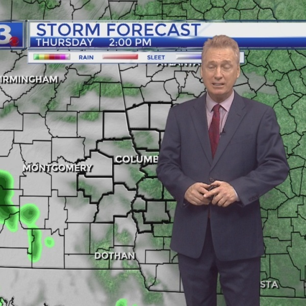 Jeff Kelly's Thursday Forecast