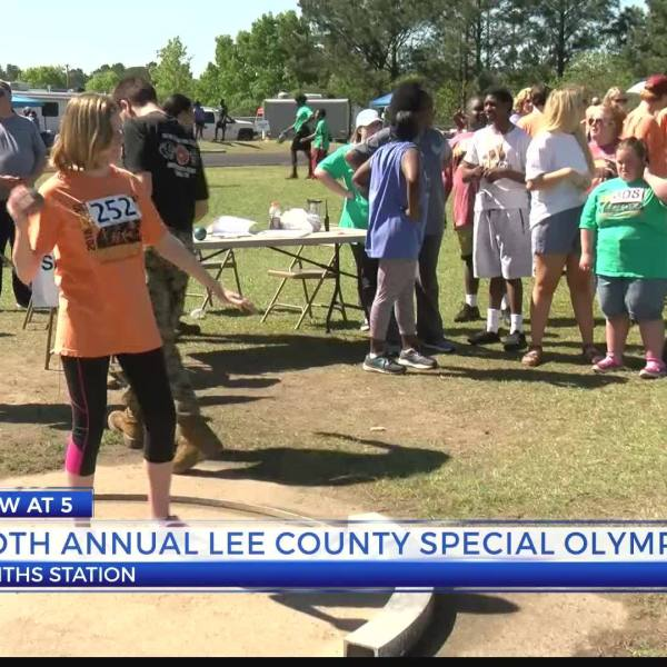 Lee County Special Olympic's 50th track and field meet