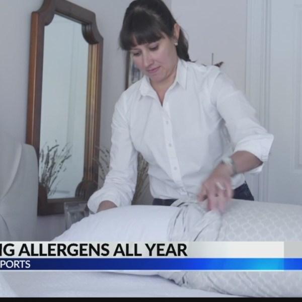 Stopping seasonal allergies