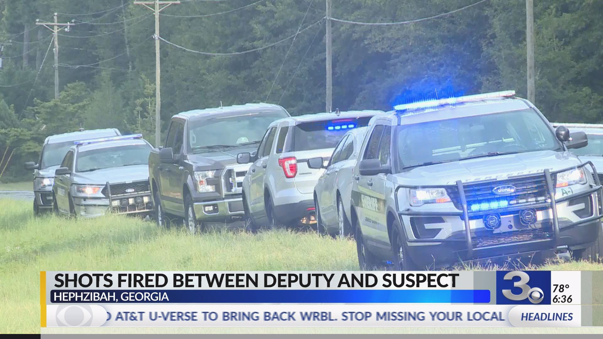 Georgia deputy, suspect exchange gunfire | WRBL