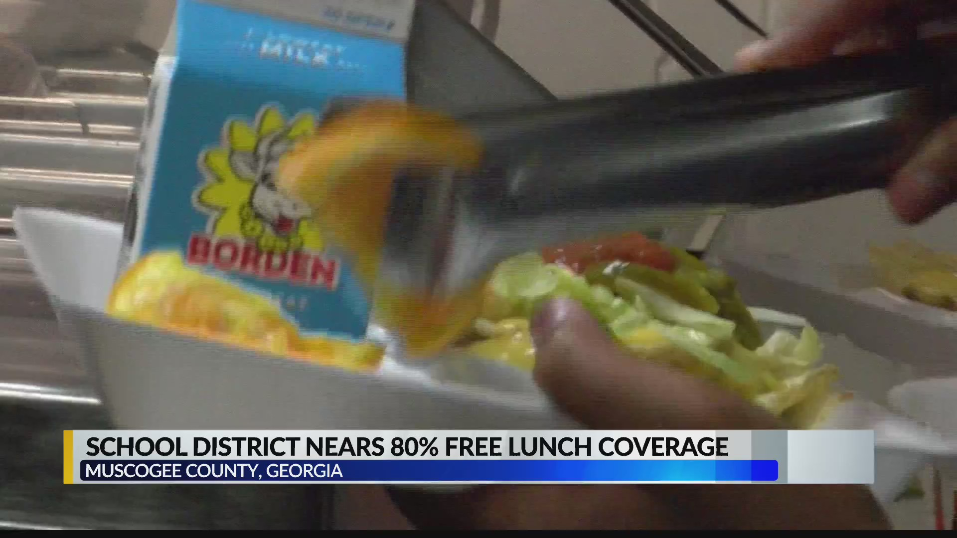 Muscogee County expands free school lunch program