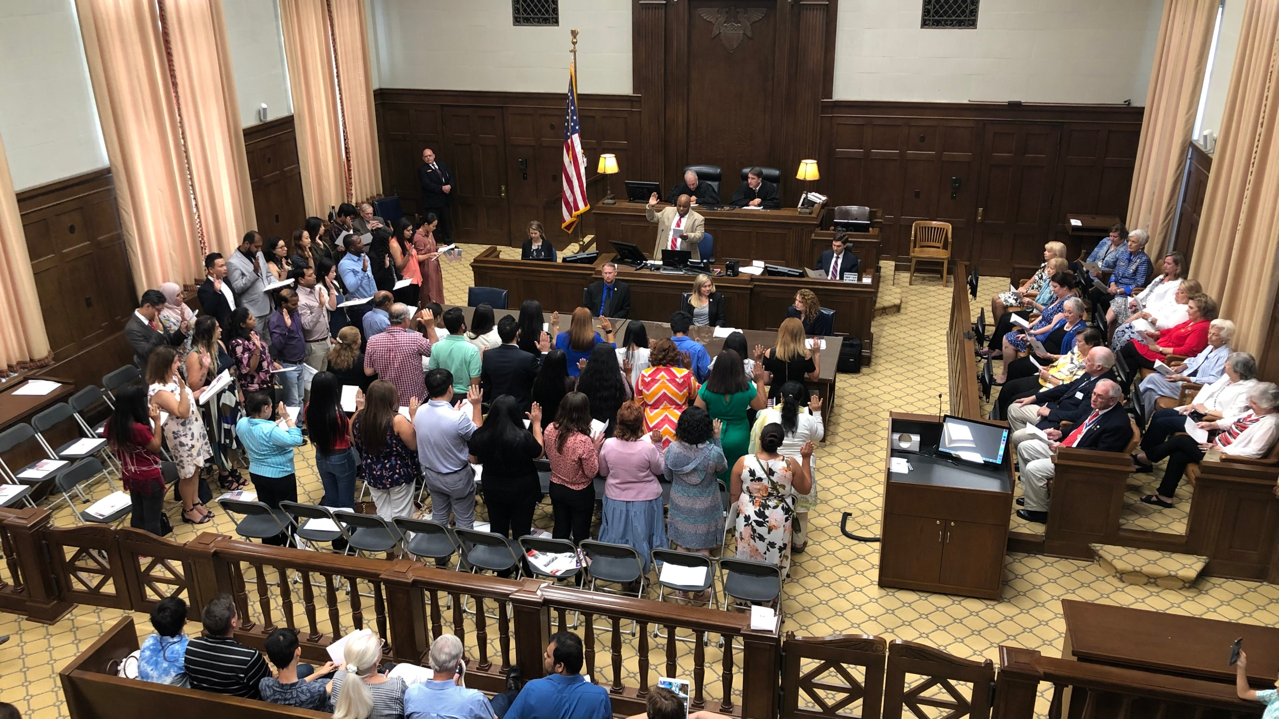 49 people from 23 countries became naturalized citizens in