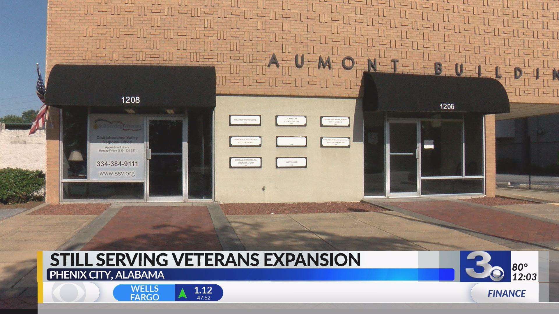 Still Serving Veterans celebrates Phenix City office
