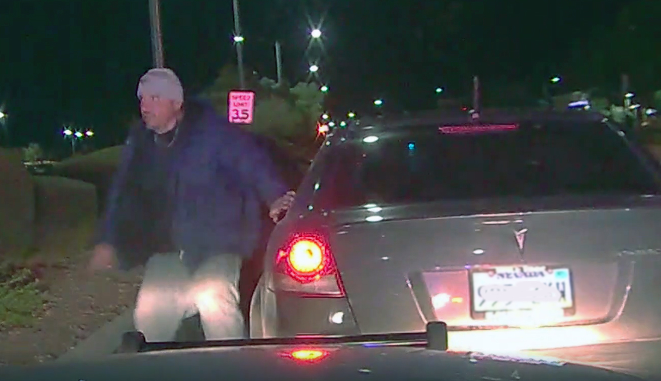 DRAMATIC VIDEO: Nye County deputies chase stolen car suspect