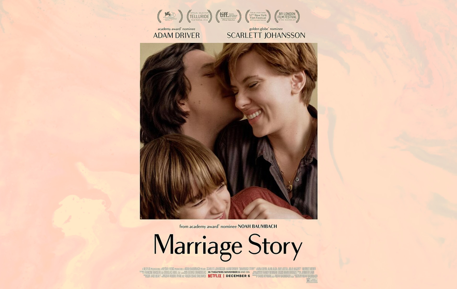Image result for marriage story poster